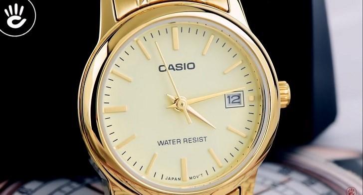 Đồng hồ nữ Casio LTP-V002G-9AUDF giá rẻ, thay pin miễn phí - Ảnh 2