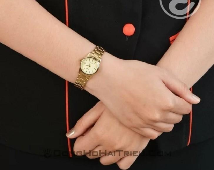 Đồng hồ nữ Casio LTP-V002G-9AUDF giá rẻ, thay pin miễn phí - Ảnh 3