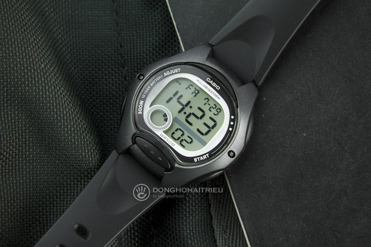 Đồng hồ Casio LW-200-1BVDF giá rẻ, được thay pin miễn phí - Ảnh: 1