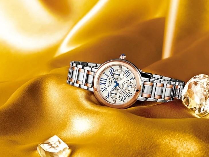 Đồng hồ Casio SHE-3034SG-7AUDR sở hữu vẻ ngoài sang trọng, tinh tế - Ảnh 3