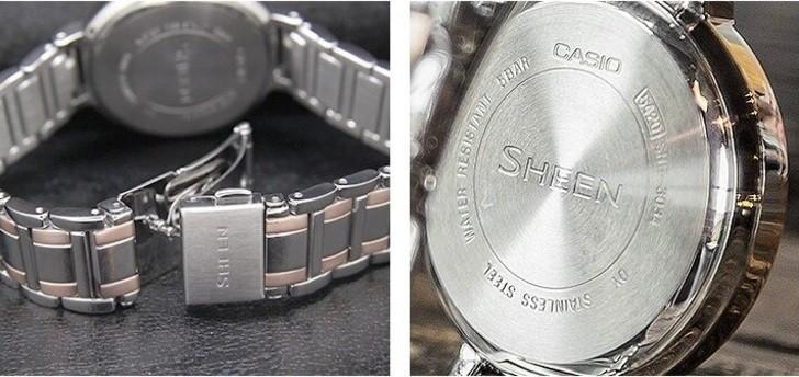 Đồng hồ Casio SHE-3034SG-7AUDR sở hữu vẻ ngoài sang trọng, tinh tế - Ảnh 5