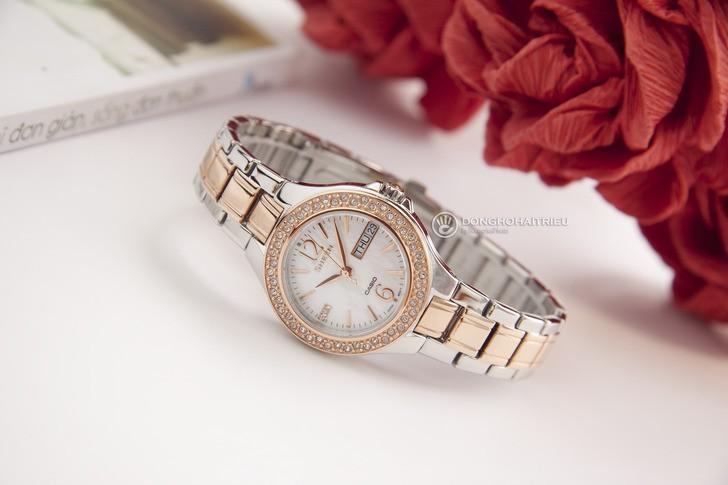 Đồng hồ Casio SHE-4800SG-7AUDR: Hấp dẫn với nét đẹp nữ tính - Ảnh 5