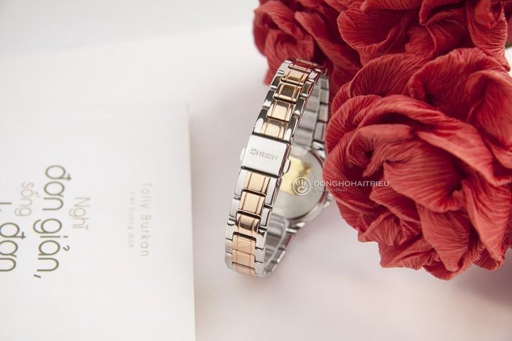 Đồng hồ Casio SHE-4800SG-7AUDR: Hấp dẫn với nét đẹp nữ tính - Ảnh 4