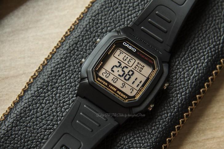 Casio W-800HG-9AVDF đồng hồ điện tử chưa đến 1 triệu đồng - Ảnh 1