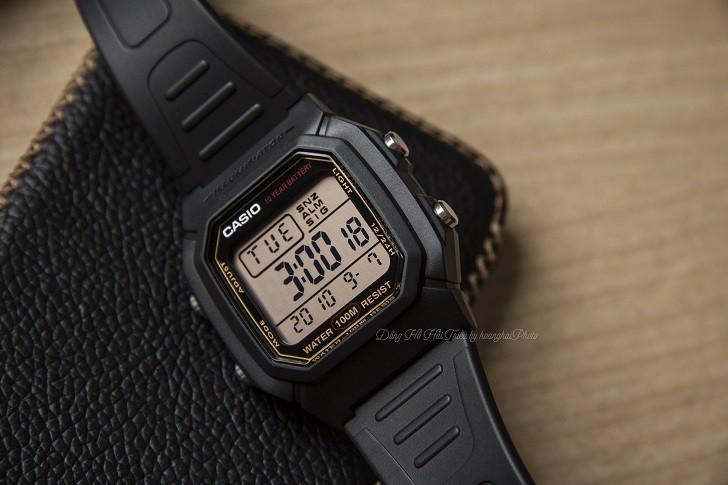 Casio W-800HG-9AVDF đồng hồ điện tử chưa đến 1 triệu đồng - Ảnh 4