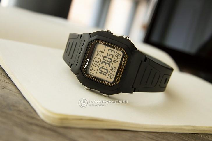 Casio W-800HG-9AVDF đồng hồ điện tử chưa đến 1 triệu đồng - Ảnh 5