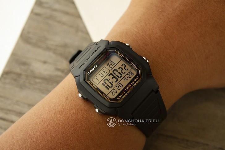 Casio W-800HG-9AVDF đồng hồ điện tử chưa đến 1 triệu đồng - Ảnh 6