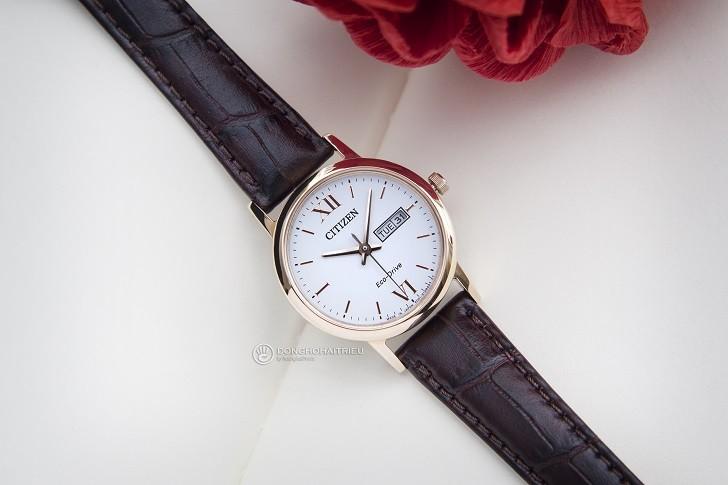 Đồng hồ nữ Citizen EW3252-07A tích hợp bộ máy Eco-Drive - Ảnh 1