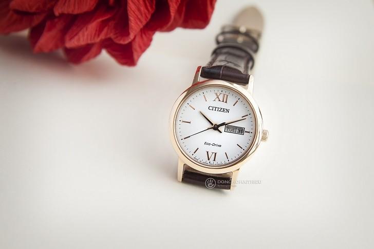 Đồng hồ nữ Citizen EW3252-07A tích hợp bộ máy Eco-Drive - Ảnh 5