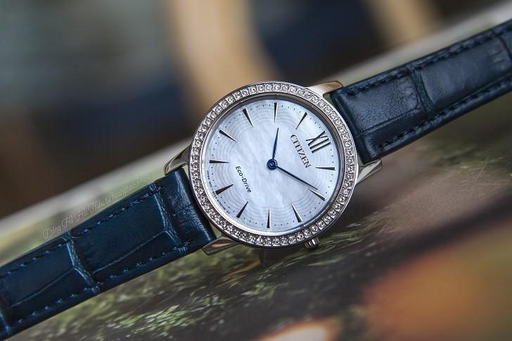 Đồng hồ nữ Citizen EX1480-15D bộ máy năng lượng ánh sáng - Ảnh 1