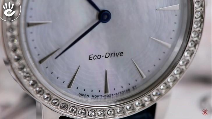 Đồng hồ nữ Citizen EX1480-15D bộ máy năng lượng ánh sáng - Ảnh 3