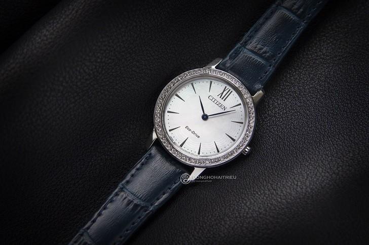 Đồng hồ nữ Citizen EX1480-15D bộ máy năng lượng ánh sáng - Ảnh 4