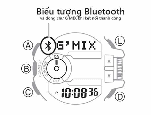 Hướng Dẫn Sử Dụng Đồng Hồ Bluetooth G-Shock Kết Nối Điện Thoại Kết Nối