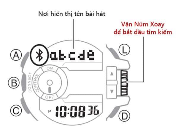 Hướng Dẫn Sử Dụng Đồng Hồ Bluetooth G-Shock Kết Nối Điện Thoại