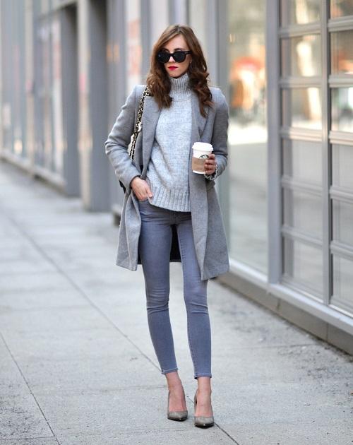mách trang phục công sở trẻ trung cho phụ nữ jeans