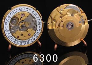 """Máy Đồng Hồ ETA 2824-2, Con Ngựa Thồ Thụy Sĩ Và Các Sản Phẩm """"Copy"""" Hangzhou 6300"""