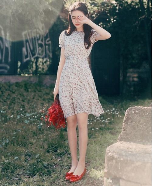 thời trang công sở nữ voan dịu dàng mê hoặc 4
