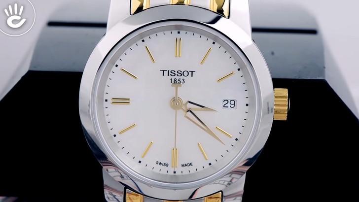 Đồng hồ Tissot T033.210.22.111.00: Dây đeo demi nổi bật - Ảnh 3