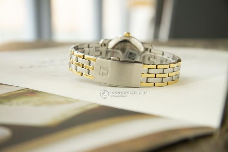 Đồng hồ Tissot T033.210.22.111.00: Dây đeo demi nổi bật - Ảnh 4