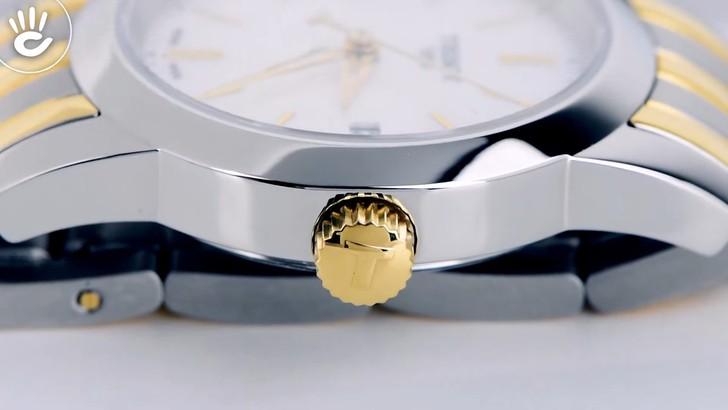 Đồng hồ Tissot T033.210.22.111.00: Dây đeo demi nổi bật - Ảnh 6