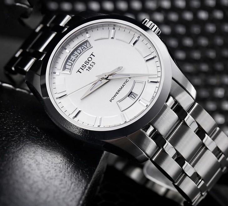 Đồng hồ Tissot T035.407.11.031.00 bộ kim phủ lớp dạ quang - Ảnh 1