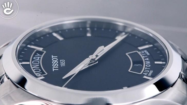 Đồng hồ Tissot T035.407.11.051.00 trữ cót mạnh mẽ 40 giờ - Ảnh 3