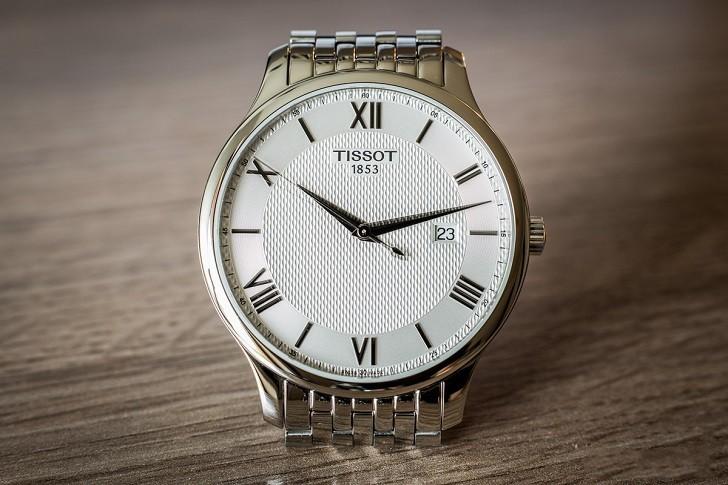 Đồng hồ Tissot T063.610.11.038.00 nam thiết kế tối giản - Ảnh: 1