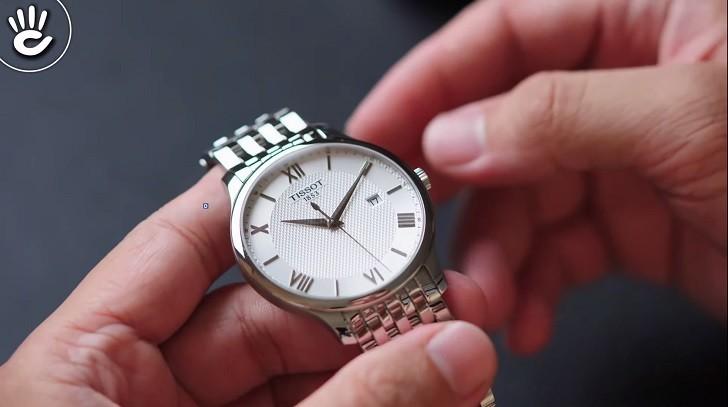 Đồng hồ Tissot T063.610.11.038.00 nam thiết kế tối giản - Ảnh: 2