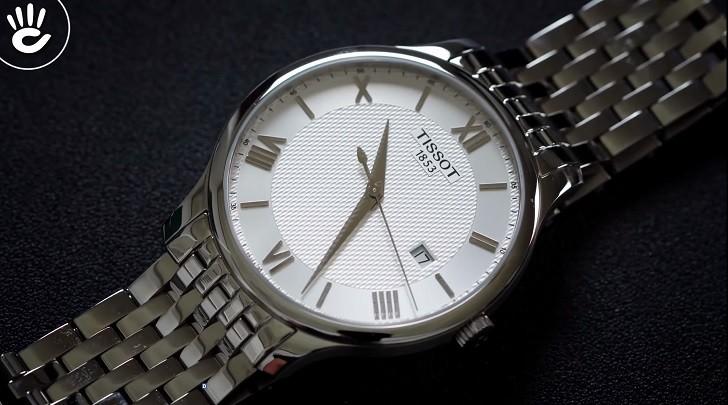 Đồng hồ Tissot T063.610.11.038.00 nam thiết kế tối giản - Ảnh: 3