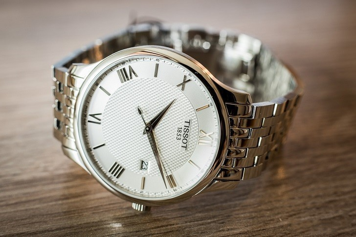 Đồng hồ Tissot T063.610.11.038.00 nam thiết kế tối giản - Ảnh: 5