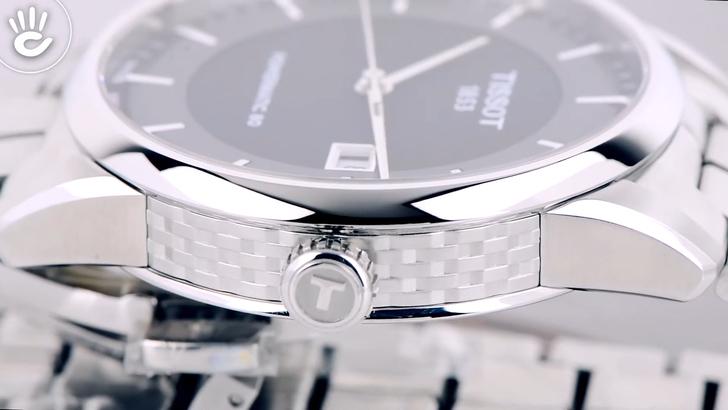 Đồng hồ Tissot T086.407.11.051.00 kính Sapphire chống trầy - Ảnh 6