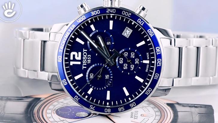 Đồng hồ Tissot T095.417.11.047.00 kháng nước 10ATM bền bỉ - Ảnh 5