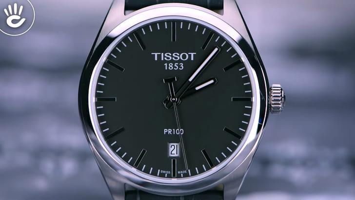 Đồng hồ Tissot T101.410.16.441.00 Swiss Made, bảo hành 4 năm - Ảnh 2