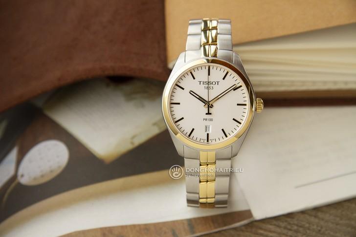 Đồng hồ nam Tissot T101.410.22.031.00 mạ vàng sang trọng - Ảnh 5