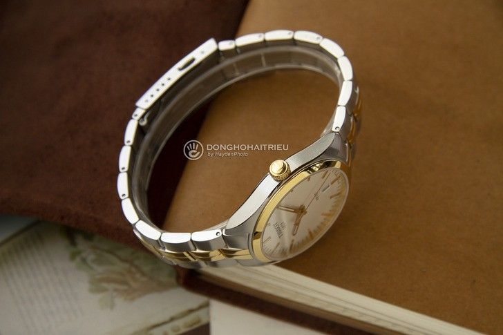 Đồng hồ nam Tissot T101.410.22.031.00 mạ vàng sang trọng - Ảnh 4