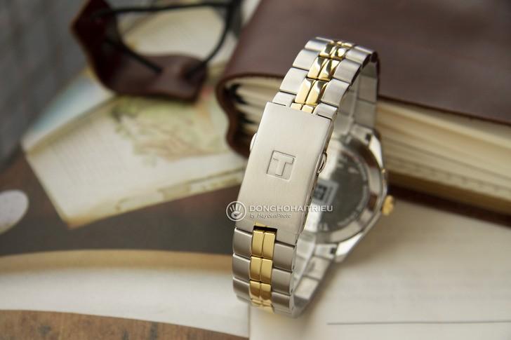 Đồng hồ nam Tissot T101.410.22.031.00 mạ vàng sang trọng - Ảnh 6