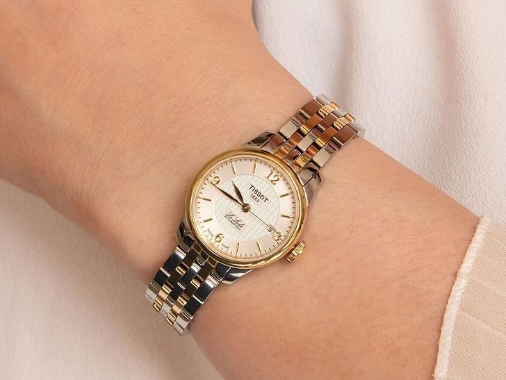 Đồng hồ nữ Tissot T41.2.183.34 trữ cót mạnh mẽ đến 40 giờ - Ảnh 1