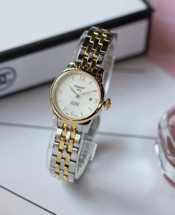 Đồng hồ nữ Tissot T41.2.183.34 trữ cót mạnh mẽ đến 40 giờ - Ảnh 2