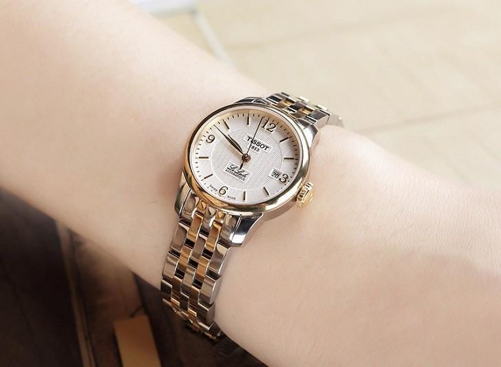 Đồng hồ nữ Tissot T41.2.183.34 trữ cót mạnh mẽ đến 40 giờ - Ảnh 3