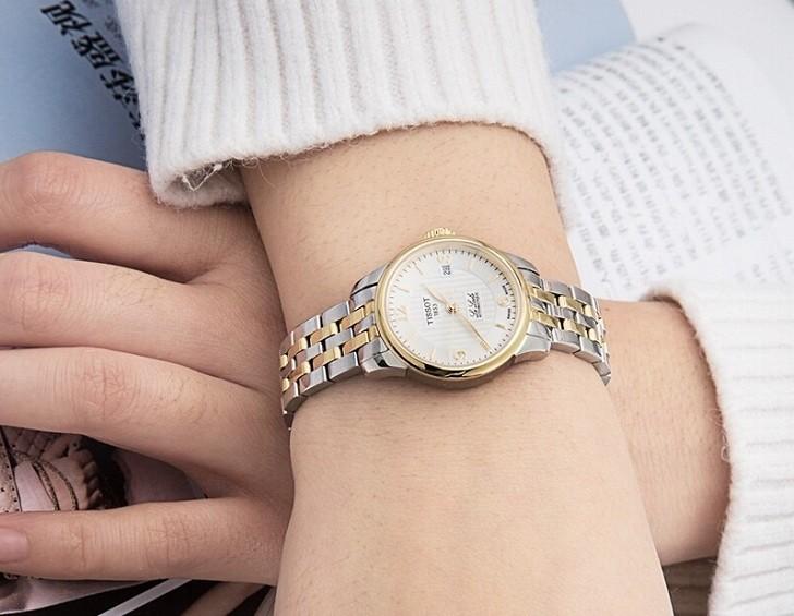 Đồng hồ nữ Tissot T41.2.183.34 trữ cót mạnh mẽ đến 40 giờ - Ảnh 6