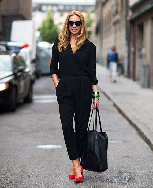 áo liền quần công sở xu hướng thời trang mới 4