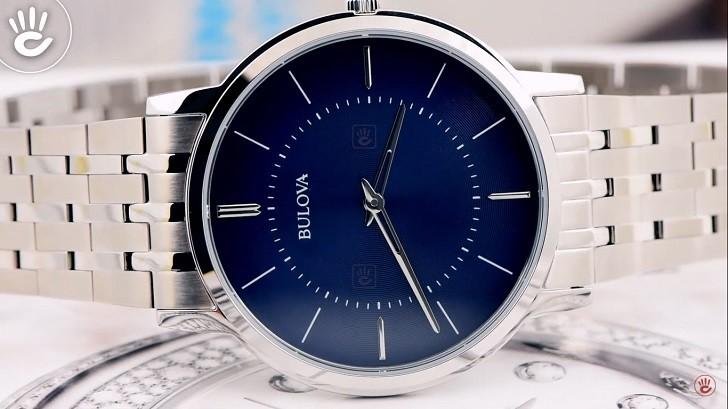 Đồng hồ Bulova 96A188 thiết kế thanh lịch, sang trọng - Ảnh 6