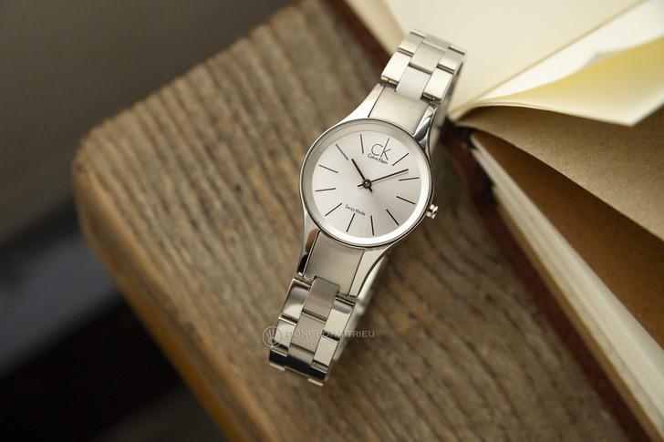 Mẫu Calvin Klein K4323185 sang trọng, chất lượng Swiss Made - Ảnh 2