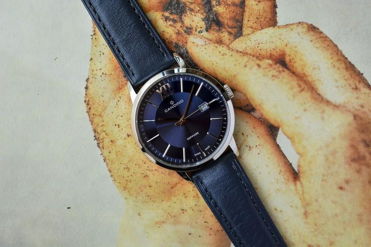 Đồng hồ nam Candino C4618/4 tông xanh nổi bật, lịch lãm - Ảnh 3