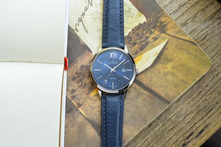 Đồng hồ nam Candino C4618/4 tông xanh nổi bật, lịch lãm - Ảnh 6