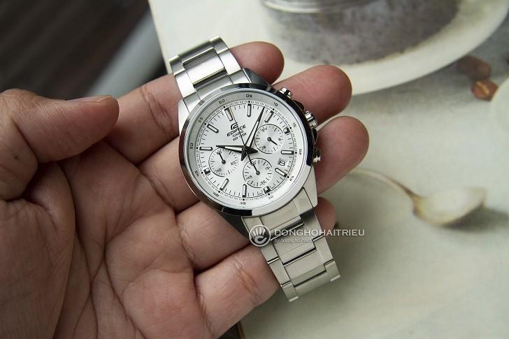 Đồng hồ Casio Edifice EFR-527D-7AVUDF wr100m, Chronograph - Ảnh: 4