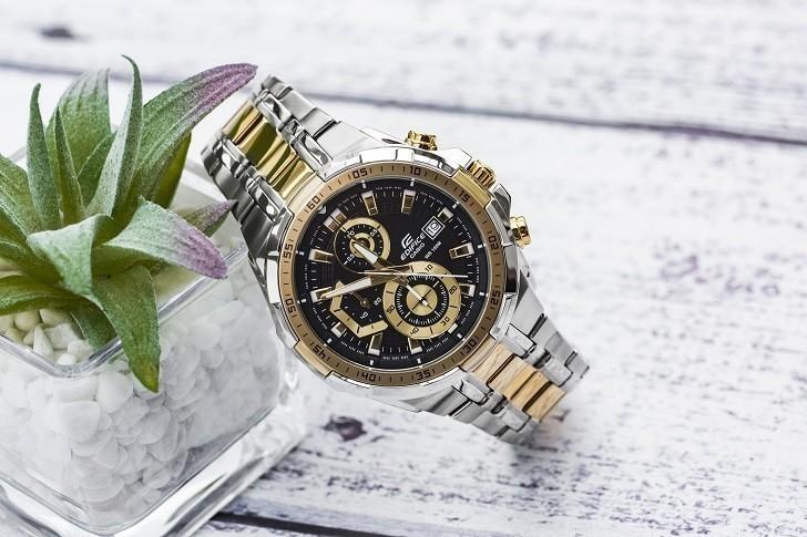 Đồng hồ Casio EFR-539SG-1AVUDF chống nước 100m, đi bơi - Ảnh: 1