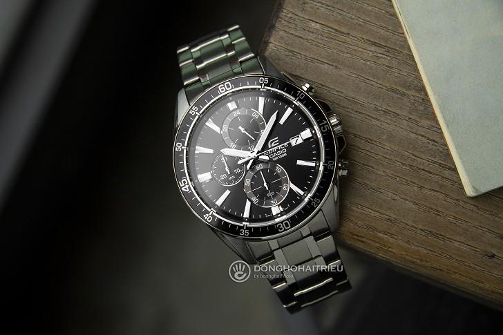 Đồng hồ thể thao Casio EFR-546D-1AVUDF tích hợp hàng loạt tính năng - Ảnh 1