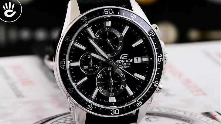Đồng hồ Casio EFR-546L-1AVUDF giá rẻ, thay pin miễn phí - Ảnh: 5