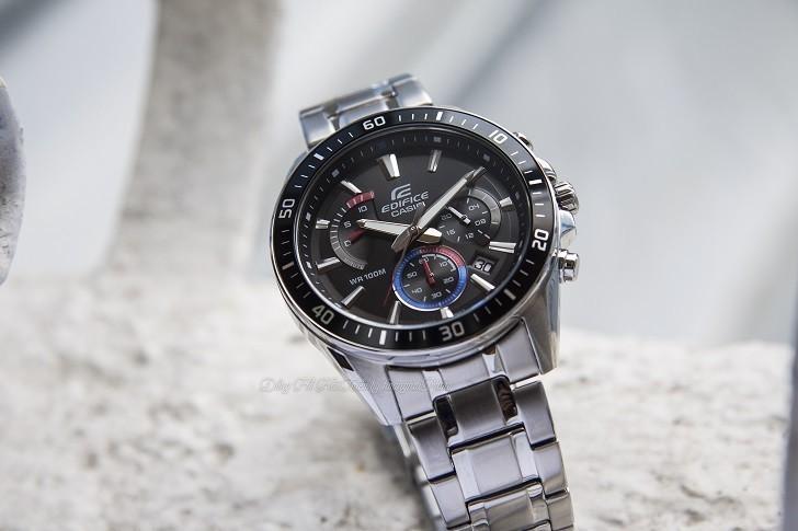 Đồng hồ Casio EFR-552D-1A3VUDF 100m thoải mái bơi lội - Ảnh: 4